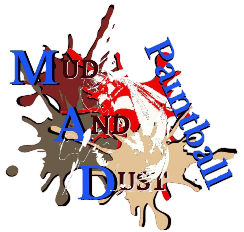 Mud and dust paintball Logo